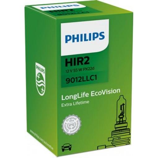 ΛΑΜΠΑ PHILIPS HIR2 9012LLC1 12V-55W